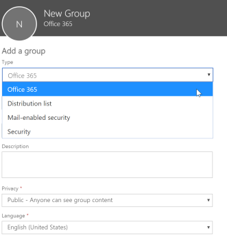 Office 365- Groups